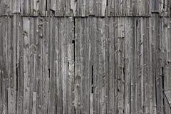 Vieux bois gris de ferme Image libre de droits