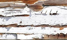 Vieux bois peint Photos stock