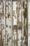 Vieux bois peint criqué image stock