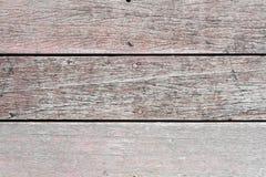 Vieux bois rayé Photos libres de droits