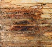Vieux bois superficiel par les agents Photographie stock