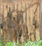 Vieux bois superficiel par les agents images stock