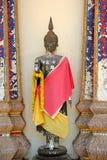 Vieux Bouddha thaï Photo libre de droits