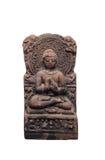 Vieux Bouddha thaïlandais a isolé Image stock