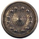 Vieux bouton de porte rond Image stock