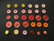 Vieux boutons Images libres de droits