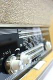 Vieux boutons par radio illustration stock
