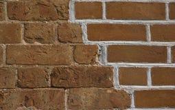 Vieux brickwall rénové Image libre de droits