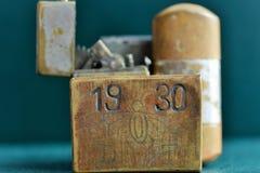 Vieux briquets Image libre de droits