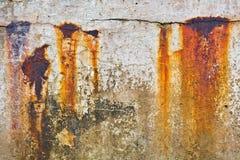 Vieux brise-lames Photos libres de droits