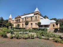 Vieux bâtiment de la présidence à Bloemfontein Images stock