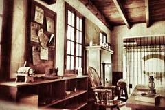 Vieux bureau Image libre de droits