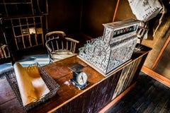 Vieux bureau de poste dans le Canada Photographie stock libre de droits