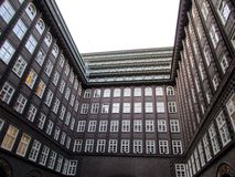Vieux bureaux Image libre de droits