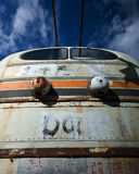 Vieux bus électrique Photographie stock libre de droits