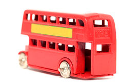 Vieux bus #3 de Londres de véhicule de jouet Images libres de droits