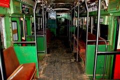 Vieux bus de chariot Images libres de droits
