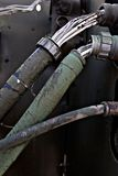 Vieux câbles Image stock