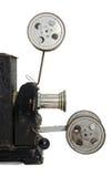 Vieux côté-visage de projecteur photographie stock