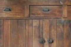 Vieux Cabinetry Image libre de droits