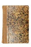 Vieux cache de livre brun Photo libre de droits