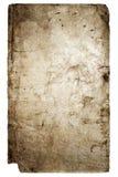 Vieux cache de livre d'isolement sur le blanc image stock