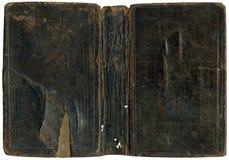 Vieux cache de livre endommagé Image stock