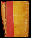 Vieux cache de livre sale illustration libre de droits
