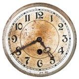 Vieux cadran d'horloge photographie stock