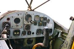 Vieux cadrans d'hélicoptère photo libre de droits