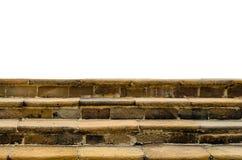Vieux cadre d'escalier photographie stock libre de droits