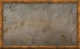 Vieux cadre de tableau en bois Image stock