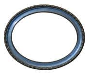 Vieux cadre de tableau ovale photo libre de droits
