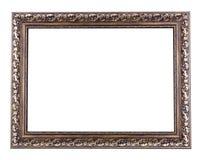 Vieux cadre en bois image stock