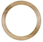 Vieux cadre en bois Image libre de droits