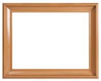 Vieux cadre en bois brun Photos stock