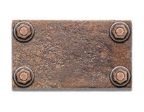 Vieux cadre en métal. photographie stock libre de droits