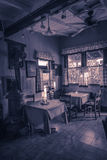 Vieux café Images stock