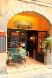 Vieux café de rue de Lyon Image libre de droits
