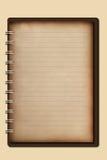 Vieux cahier Photographie stock libre de droits