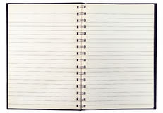 Vieux cahier Photographie stock