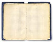 Vieux cahier Image libre de droits