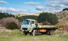 Vieux camion de ferme Photographie stock libre de droits