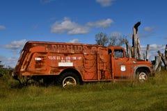 Vieux camion de gaz de Phillips Photographie stock