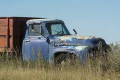 Vieux camion de grain Images libres de droits
