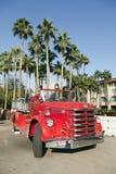 Vieux camion de pompiers image libre de droits