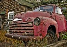 Vieux camion du Yukon Images libres de droits