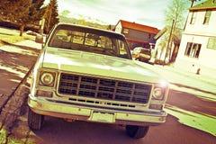 Vieux camion pick-up Photographie stock libre de droits