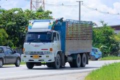 Vieux camion privé de 10 roues Images stock