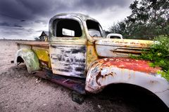 Vieux camion rustique Photographie stock libre de droits